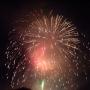 汐留モール夏祭りの花火大会